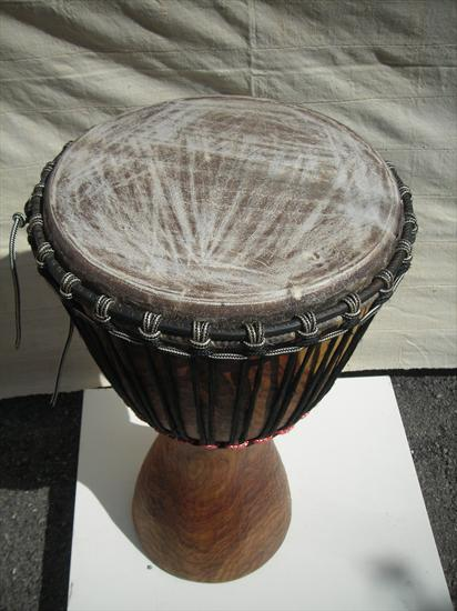 Afro Craft  djembébois rouge , Instruments africains , Percussion