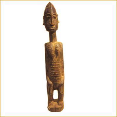 afro craft statuette dogon bois rouge bois d 39 afrique les antiques. Black Bedroom Furniture Sets. Home Design Ideas